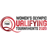 2020 Summer Olympic Games Basketball Qualifying for Women Logo