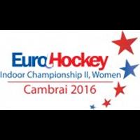 2016 EuroHockey Indoor Championship II Women Logo