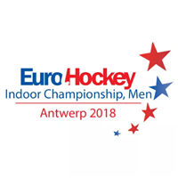 2018 EuroHockey Indoor Championship Men Logo