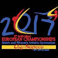 2017 European Artistic Gymnastics Championships Logo