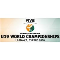 2016 U19 Beach Volleyball World Championships Logo