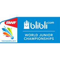 2017 BWF Badminton World Junior Championships Logo