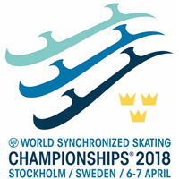 2018 World Synchronized Skating Championships Logo