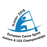 2016 European Canoe Sprint Junior and U23 Championships Logo