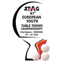 2018 European Table Tennis Youth Championships Logo