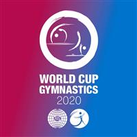 2020 Artistic Gymnastics World Cup Logo
