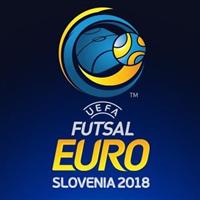2018 UEFA Futsal Championship Logo