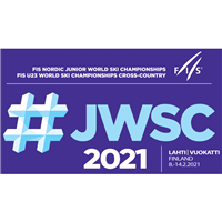 2021 FIS Nordic Junior World Ski Championships Logo
