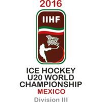 2016 IIHF World Junior Championships Division III Logo