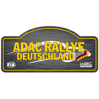 2019 World Rally Championship ADAC Rallye Deutschland Logo