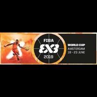 2019 FIBA 3x3 World Cup Logo