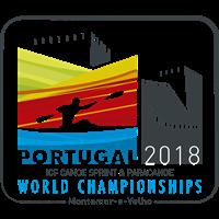 2018 Canoe Sprint World Championships Logo