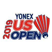 2019 BWF Badminton World Tour US Open Logo