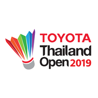 2019 BWF Badminton World Tour Thailand Open Logo