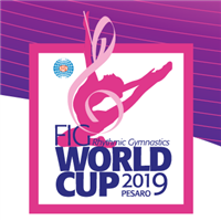 2019 Rhythmic Gymnastics World Cup Logo