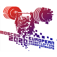 2020 European Weightlifting Championships Logo