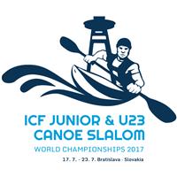 2017 Canoe Slalom Junior and U23 World Championships Logo