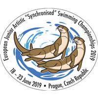 2019 European Junior Artistic Swimming Championships Logo