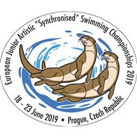 2019 European Junior Artistic Swimming Championships Logo