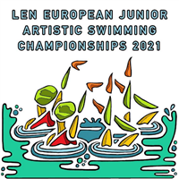 2021 European Junior Artistic Swimming Championships Logo