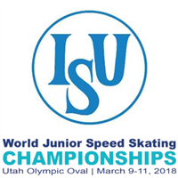 2018 World Junior Speed Skating Championships Logo
