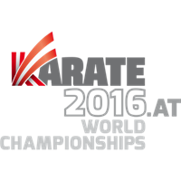 2016 Karate World Championships Logo