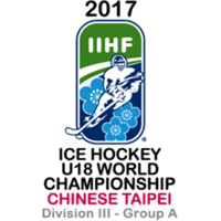 2017 Ice Hockey U18 World Championship Division III A Logo