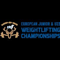2021 European Junior Weightlifting Championships Logo
