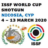 2020 ISSF Shooting World Cup Shotgun Logo