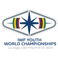 2019 World Youth Weightlifting Championships Logo