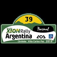 2019 World Rally Championship Rally Argentina Logo