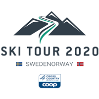 2020 FIS Cross Country World Cup Ski Tour Logo
