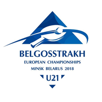 2018 European Table Tennis U21 Championships Logo