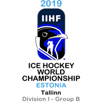 2019 Ice Hockey World Championship Division I B Logo