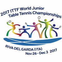 2017 World Table Tennis Junior Championships Logo
