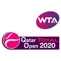 2020 WTA Tennis Premier Tour Qatar Open Logo