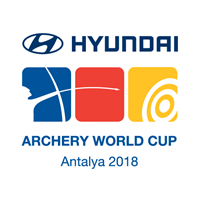 2018 Archery World Cup Logo