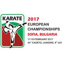 2017 European Karate Junior Championships Logo