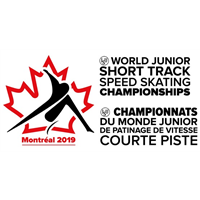 2019 World Junior Short Track Speed Skating Championships Logo