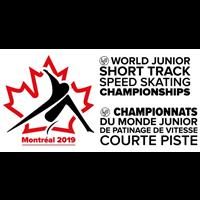 2019 World Junior Short Track Speed Skating Championships Logo