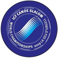 2019 Canoe Slalom World Championships Logo