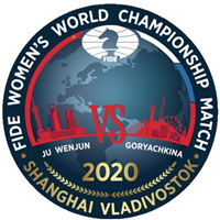 2020 World Women Chess Championship Games 7-12 Logo