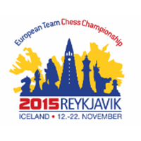 2015 European Team Chess Championship Logo