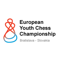 2019 European Youth Chess Championship Logo