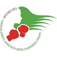 2015 European Youth Boxing Championships Women Logo