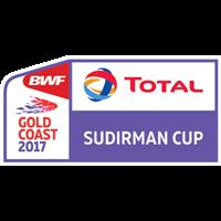 2017 Badminton Sudirman Cup Logo