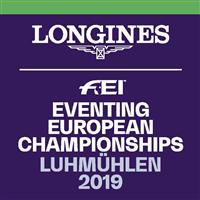 2019 Equestrian European Championships Eventing Logo