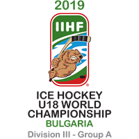 2019 Ice Hockey U18 World Championship Division III A Logo