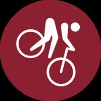 2020 Summer Olympic Games - Mountain biking Logo
