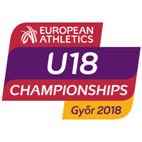 2018 European Athletics U18 Championships Logo